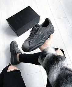 Trendy Sneakers 2018 : PUMA Women& Shoes Find More at => feedproxy. Pumas Shoes, Women's Shoes, Me Too Shoes, Shoe Boots, Shoes Sneakers, Puma Sneakers, Golf Shoes, Puma Fenty Shoes, Suede Pumas
