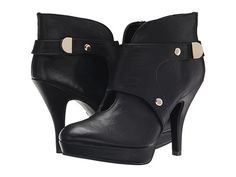 Kenneth Cole Unlisted File Type Black Riding PU - 6pm.com