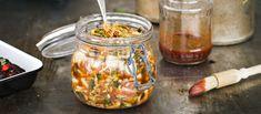 Kimchi, I Love Food, Preserves, Great Recipes, Vegetarian, Salad, Treats, Vegetables, Cooking