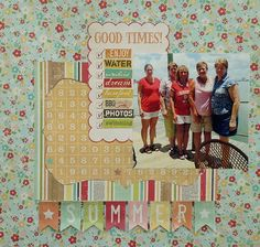 Simple Stories Heats Up Summer Scrapbooking: A Cherry On Top