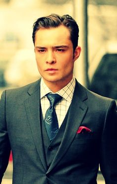 Chuck Bass | Gossip Girl - everything about his character just kills me.