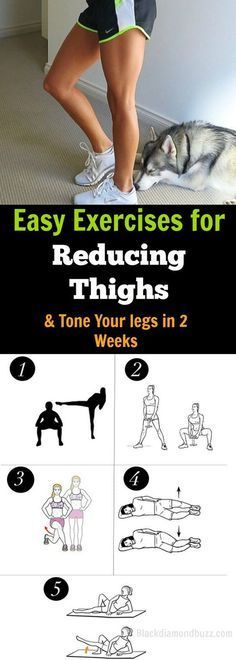 Easy Thigh Reducing Exercises | Posted by AdvancedWeightlossTips.com
