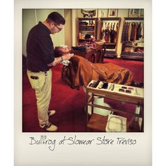 Bullfrog Barber Event October '14 The Slowear Store Treviso