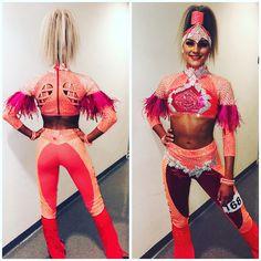 Pink Lipsticks, Dance Outfits, Dance Costumes, Costume Design, Dance Wear, Sequins, Gowns, Crop Tops, Grapefruit