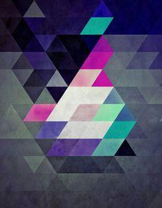 Pattern love :: Black, purple, pink, turquoise