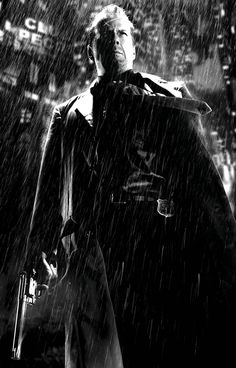 Bruce Willis as John Hartigan in Sin City, directed by Frank Miller and Robert Rodriguez., 2005