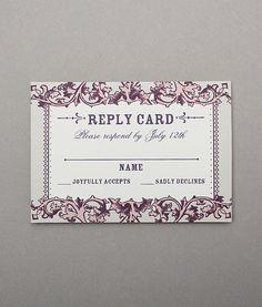 diy rsvp cards template