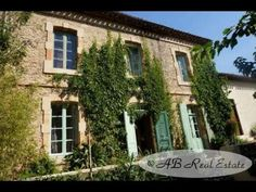 Stone Farmhouse + 2 Cottages + 2 Studios For Sale in Carcassonne area, Languedoc Roussillon, South of France http://www.ab-real-estate.com/south_france_property_Carcassonne_Mas_Farm_2118