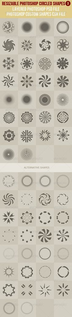 Photoshop Circled Shapes 3 - http://graphicriver.net/item/photoshop-circled-shapes-3/2839325?ref=cruzine