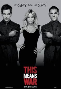 Reese Witherspoon's Style in This Means War.  LOVE her hair in this movie....lovethat black dress