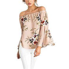 New Trending Crop Tops: LXS STORE Women Summer Blouse Off Shoulder Print Irregular Tops Boat Neck Loose Flare Sleeve Top (M, Khaki). Special Offer: $9.99 amazon.com Size: S Bust:104cm/40.94″ Length:49cm/19.29″ Sleeve:50cm/19.69″ Shoulder:41cm/16.14″ M Bust:108cm/42.52″ Length:50cm/19.69″ Sleeve:51cm/20.08″ Shoulder:42cm/16.54″ L Bust:112cm/44.09″...
