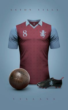 Futebol   Elegância & Sofisticação  Aston Villa - Inglaterra