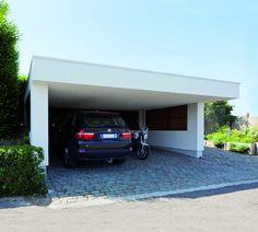 moderne carport | Bogarden