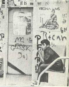 Early 70's Graffiti Subway Inside