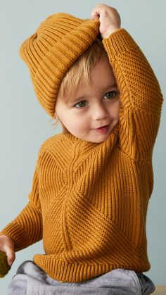 Warm layers, cute dresses and charming dungarees: discover our new autumn collection from Baby Exclusive. H&m Kids, Cute Kids, Cute Babies, Baby Kids, Children, Fall Baby Clothes, Storing Baby Clothes, Little Boy Fashion, Kids Fashion