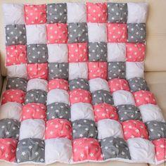 Пледы и одеяла ручной работы. Заказать Зефирное детское одеяло. Анна Меркулова. Ярмарка Мастеров. Серый, одеяло для новорожденного