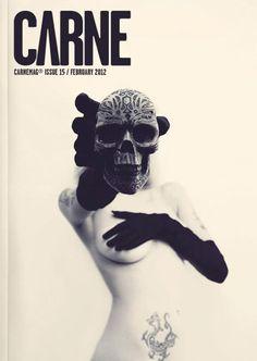 CARNEMAG / Magazine Covers #skull