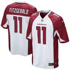 Larry Fitzgerald Arizona Cardinals Nike Youth Game Jersey – White