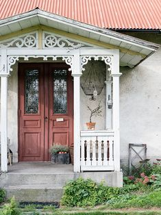 Made In Persbo: september 2015 Swedish Cottage, Victorian Cottage, Swedish House, Cozy Cottage, Victorian Homes, This Old House, My House, Beautiful Buildings, Beautiful Homes