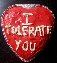 I'm making this for Valentine's Day.