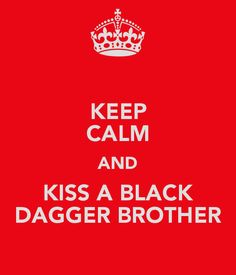 Black Dagger Brotherhood for @Carrie Mcknelly Knabe (and me, of course)