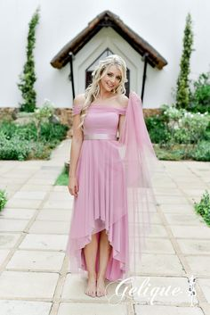 Gelique Annabell Dress - Perfect for Bridesmaids