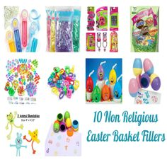Easter is around the corner. I always had fun customizing my daughter's Easter baskets when she was young. Here are my top 10 non-religious Easter basket filler ideas.