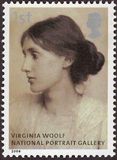 Literary Stamps: Woolf, Virginia (1882 – 1941)