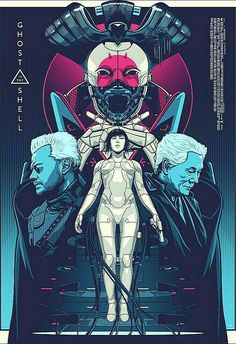 Ghost in the Shell 2017 [ Batou, Major Motoko Kusanagi, Chief Daisuke Aramaki ] / 攻殻機動隊2017 バトー, 草薙素子 少佐, 荒巻大輔チーフ .jpg