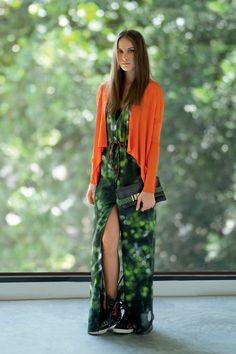 Green and orange -Osklen