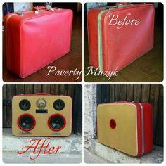 #PovertyMuzyk #Custom #Cadillac #stereo #Chicago #retro #boombox