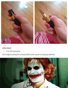 That's how I got these scars