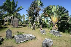 This picturesque island graveyard is the final resting place of dozens of notorious pirates