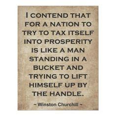 Winston Churchill had a lot in common with President Reagan!
