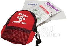 Lifeline Mini Day Pack (Glovebox) 34-piece First Aid Kit