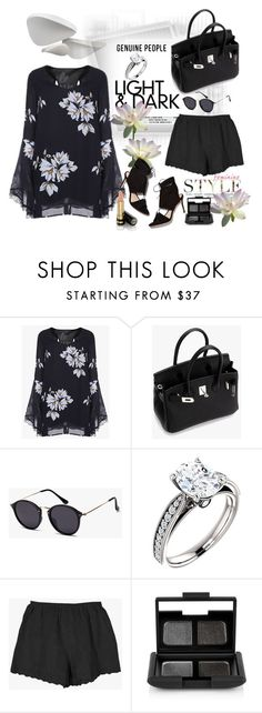 """Genuine-People"" by jecakns ❤ liked on Polyvore featuring Le Fate, Loeffler Randall, NARS Cosmetics, Gucci and Genuine_People"