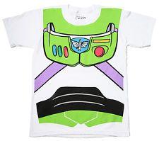 Toy Story Buzz Lightyear I Am Buzz Costume T-shirt - White
