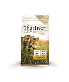 Nature's Variety Instinct Raw Boost Grain Free Chicken Meal Formula Dry Cat Food, 5.1 lb. Bag -- Check out @