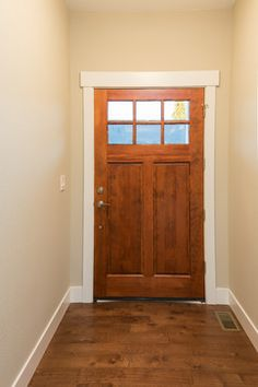 Nice Door Trim, Like This Style Too