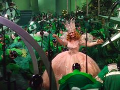 Glinda the Good Witch, telling the Munchkins that it is okay to come out of hiding Judy Reyes, Glenda The Good Witch, Margaret Hamilton, The Witches Of Oz, Wizard Of Oz 1939, Billie Burke, Dorothy Gale, Land Of Oz, Yellow Brick Road