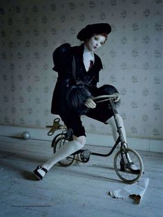 Photography by Tim Walker. 'Mechanical dolls' editorial for Vogue Italia, October 2011.
