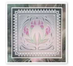 And now for a Groovi Game Changer: The Queen's Lace Duets Barbara Gray Blog, Parchment Design, Handmade Stamps, Handmade Cards, Butterfly Dragon, Monarch Butterfly, Parchment Cards, Butterfly Template, Flower Stamp