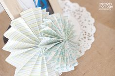 Paper fans!