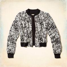 Girls Embarcadero Soft Bomber Jacket | Girls Tops | HollisterCo.com
