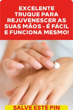 Excelente truque para rejuvenescer as suas mãos - é fácil e funciona mesmo!   Com este tratamento, suas mãos ficarão supermacias. #mãos #fácil #mesmo #  #funciona Interior Design Living Room, Home Remedies, Good Things, Tips, How To Make, Bedroom, Projects, Natural Hair Treatments, Natural Treatments