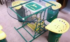 John Deere table
