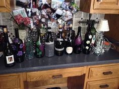 Mixed bottles