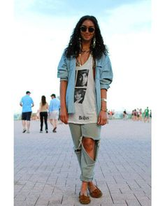 Lollapalooza Fashion - Lollapalooza Music Festival - ELLE