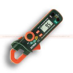 """http://handinstrument.se/stromtang-r1041/stromtang-mini-200a-53-MA150-r1158  Strömtång, mini, 200A  0,7 """"(18mm) käft  Stor bakgrundsbelyst LCD-display  Beröringsfri AC spänningsdetektor (100 till 600VAC) via käkspetsen  Inbyggd vitt LED-ficklampa  Kontinuitet och diodtest, Max Hold, Automatisk avstängning Garanti: 2 År"""