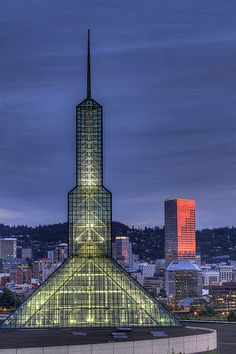 Oregon Convention Center - Portland Oregon